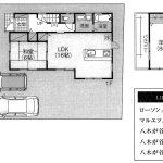 船橋 第1八木ケ谷 LDK16帖・カースペース2台・閑静な住宅街
