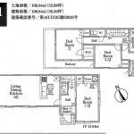 船橋 丸山3期全6棟 1号棟 LDK18帖・WIC・2面バルコニー・駐車スペース2台