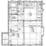【貸アパート】サンハイツ102 本八幡 2K B/T別 モニター付きインターホン 追い炊き機能 コンロ付き