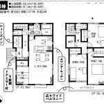 鎌ヶ谷 南鎌ヶ谷7期 1号棟 LDK16帖+畳コーナー・WIC・SIC・納戸あり収納豊富