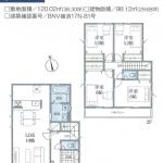 二和東3期 10号棟 全21棟の大型分譲地・LDK19帖・住宅性能評価取得・駐車2台