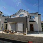 北中沢6期 6号棟 全7棟の新築現場・住宅性能評価取得・駐車2台