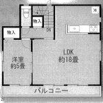 松戸 五香3丁目 2階LDK18帖・小中学校徒歩圏内・2駅利用可