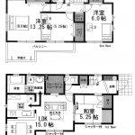 船橋 南三咲3丁目 WIC、廊下収納など収納充実・3(4)LDK+WIC