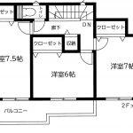船橋 二和東6期 LDK17帖・南側小学校の校庭につき日当たり良好!!駅徒歩3分!