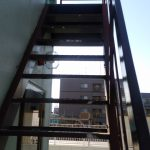 4階から階屋上へ(階段)(外観)