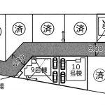 松戸市 五香7期 12号棟 駅徒歩5分・日当たり良好な開発分譲地・全棟2台駐車可能!