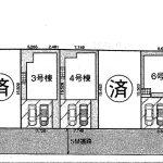 鎌ヶ谷 道野辺中央6期全8棟3号棟 4LDK+WIC・全棟明るい南西道路・カースペース並列2台可!