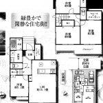 鎌ヶ谷西道野辺 ワイドバルコニー・SC、WCあり収納充実・駐車場2台