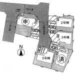 白井市根9期全5棟 5号棟 4LDK+SIC・主寝室9.2帖・6M新設道路に面した45坪