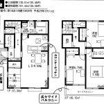 鎌ヶ谷 南鎌ヶ谷6期 2号棟 LDK16帖+畳コーナー・WIC・SIC・納戸あり収納豊富
