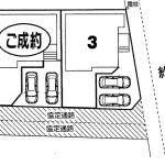 鎌ヶ谷  西佐津間1丁目3号棟 LDK17帖・WICあり収納豊富!駐車場2台