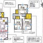 鎌ヶ谷市北中沢 新築分譲住宅全3棟