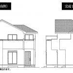鎌ヶ谷 道野辺中央3丁目 4LDK・WIC、SIC・角地・勝手口あり・ダブルバルコニー